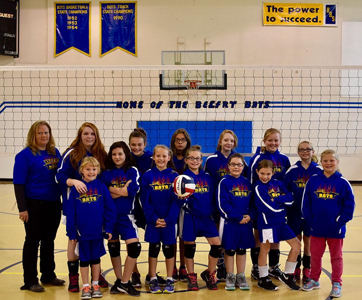 Belfry Public School - Gallery: Junior High Volleyball